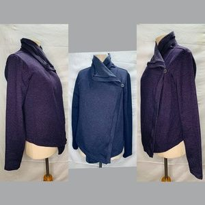Patagonia Ahnya Wrap cardigan long sleeve Purple